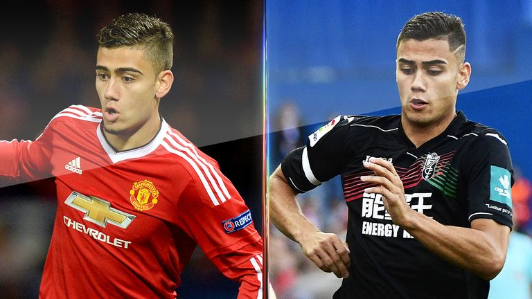 Andreas Pereira is currently on loan from Manchester United at Granada