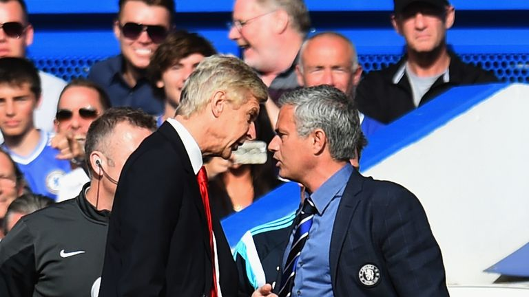 Jose Mourinho resumes rivalry with Arsene Wenger