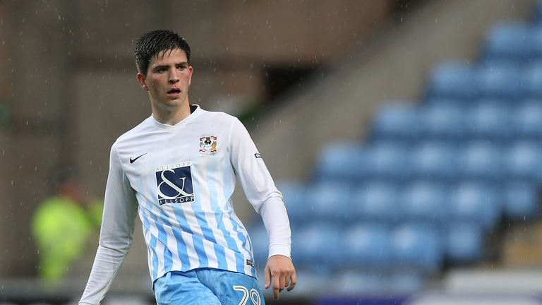Coventry's Cian Harries moves to Swansea City