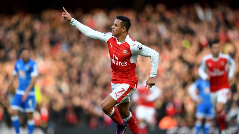 Image result for ARSENAL ALEXIS PICTURES