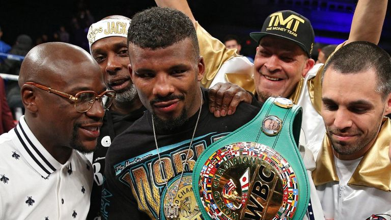 WBC world champion Badou Jack is promoted by Floyd Mayweather