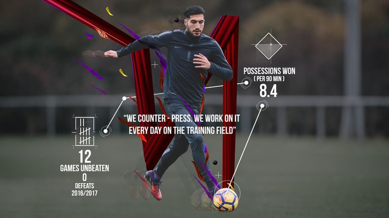 Emre Can is enjoying himself in his new role under Jurgen Klopp at Liverpool