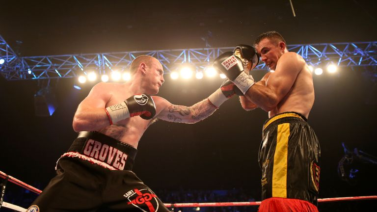 Groves comprehensively out-pointed Eduard Gutknecht