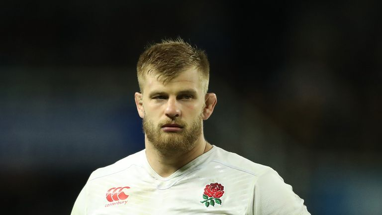 George Kruis will be available for England's Six Nations opener against France