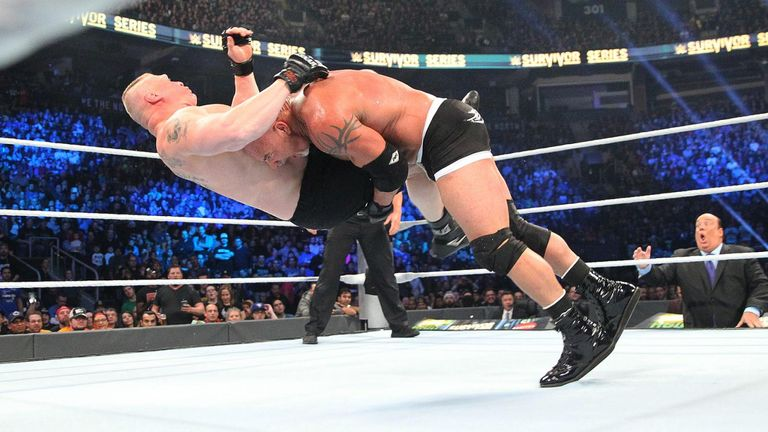 Lesnar lost at Survivor Series courtesy of two spears and a jackhammer
