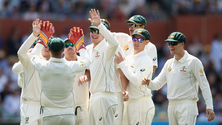 Australia ends 5-test losing streak with win vs South Africa