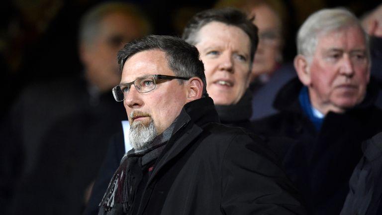Hearts director of football Craig Levein is a big fan of Ian Cathro
