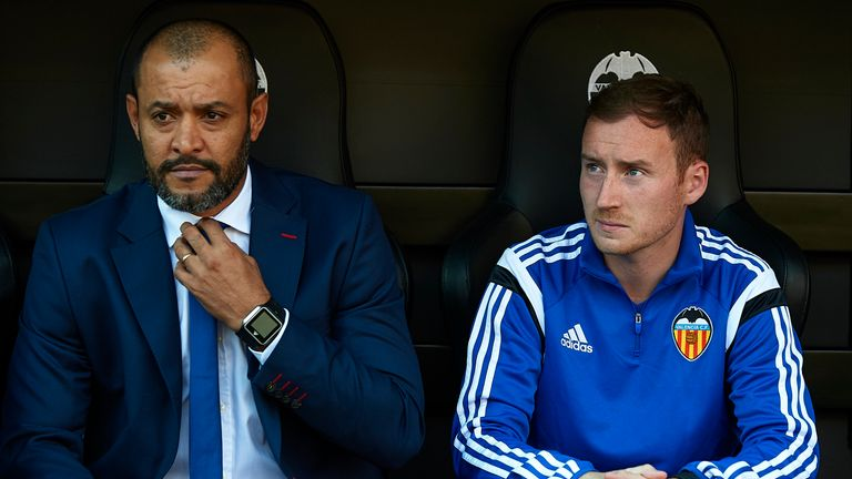 Cathro had a spell as assistant manager to Nuno Espirito Santo at Valencia