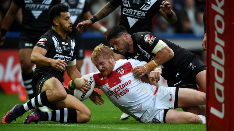 England hope to be able to call upon James Graham for Samoa Test