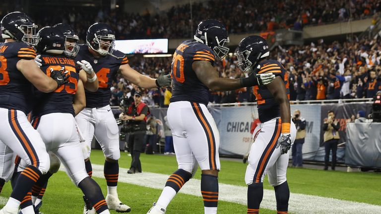Bears get confidence booster for bye with win vs Vikings