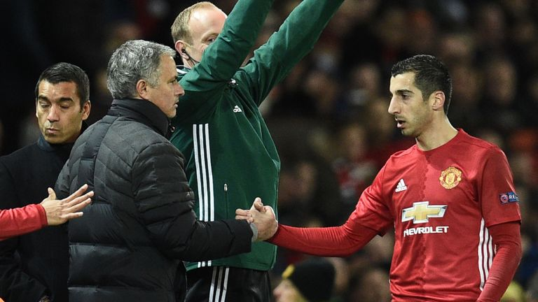 Mkhitaryan starred for United against West Ham, after impressing against Feyenoord last week in the Europa League