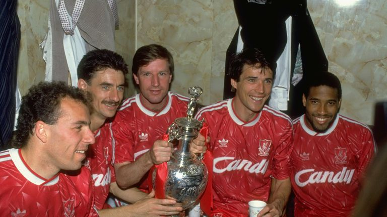 Ian Rush, Alan Hansen and John Barnes were part of  a Liverpool side won the Division One title in 1990