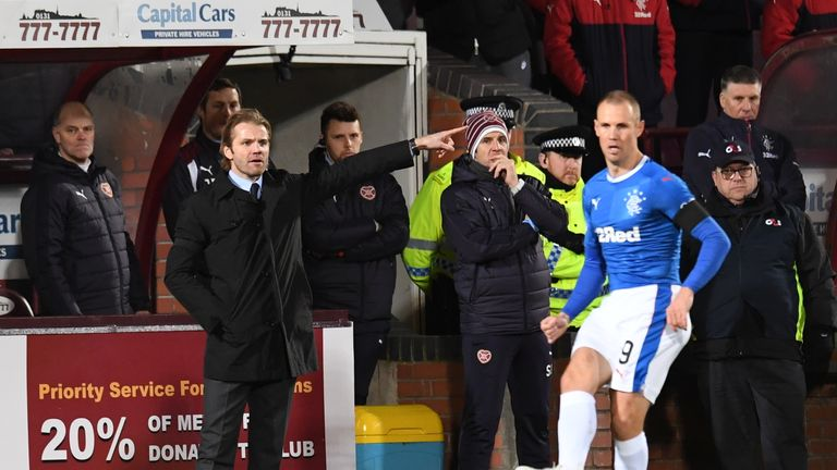 Kenny Miller said Rangers could not get going against Hearts