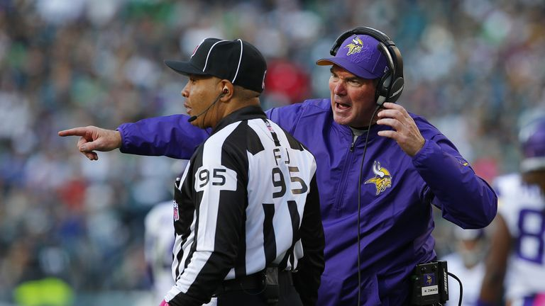 Mike Zimmer may miss Thursday's game against the Cowboys