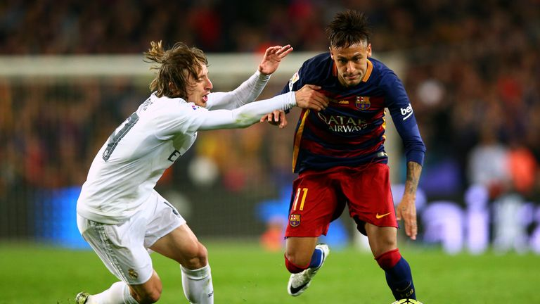 Real Madrid won the last Nou Camp Clasico in April 2-1