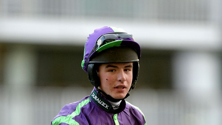 Charlie Deutsch rode a double at Ffos Las