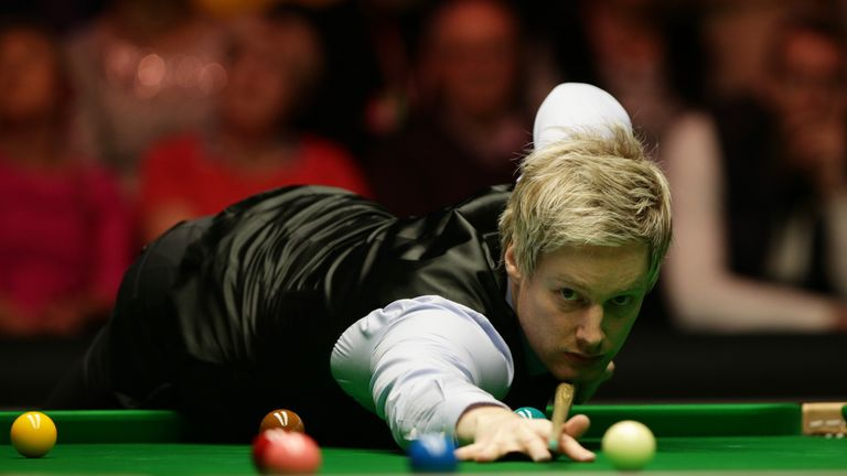 Neil Robertson's UK Championship defence ended in the first round