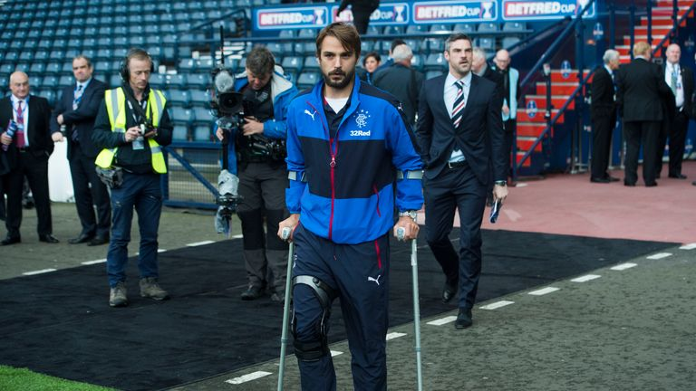 Kranjcar was ruled out for the rest of the season