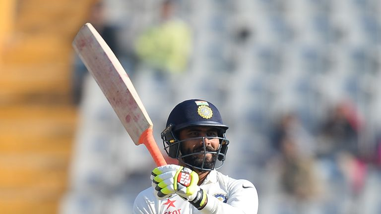 Ravindra Jadeja starred with bat and ball for India