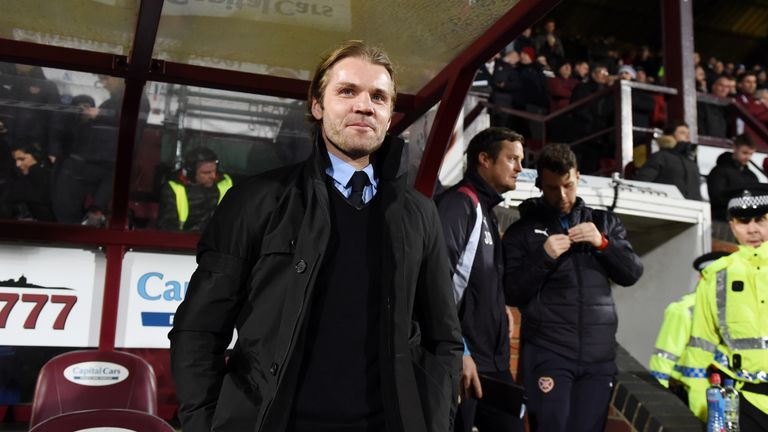 Robbie Neilson was taking charge of Hearts for potentially the last time on Wednesday
