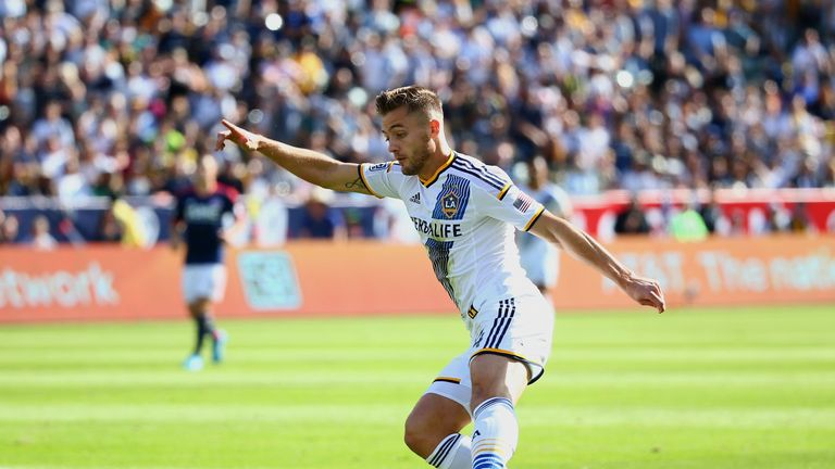 Robbie Rogers returned to football with the LA Galaxy after coming out