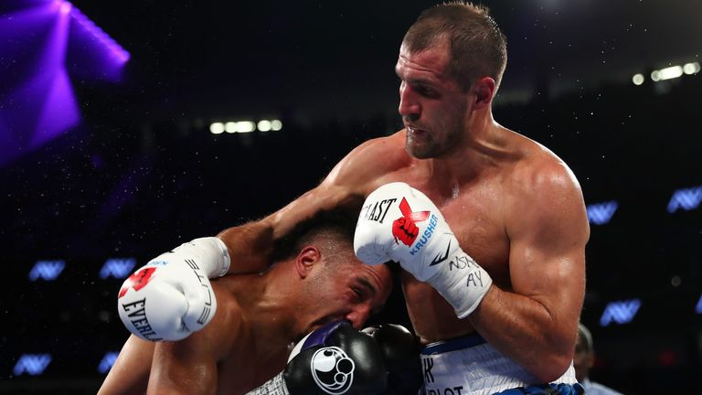 Ward pulls off decision win over Kovalev for title