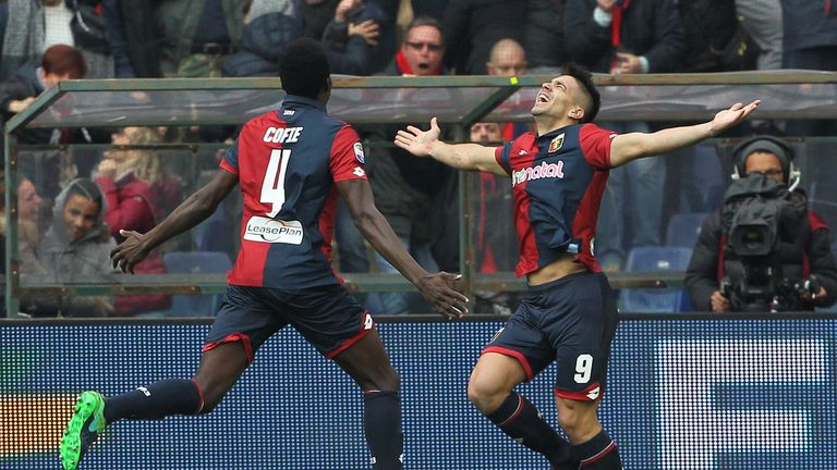 Giovanni Simeone is finding the net on a regular basis