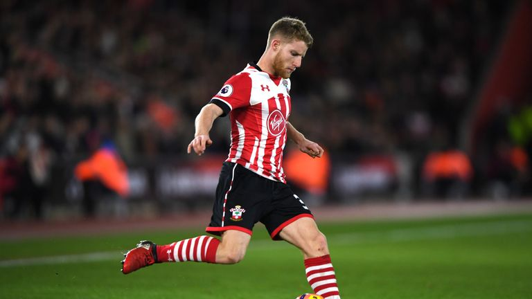 Josh Sims was man of the match for Southampton against Everton