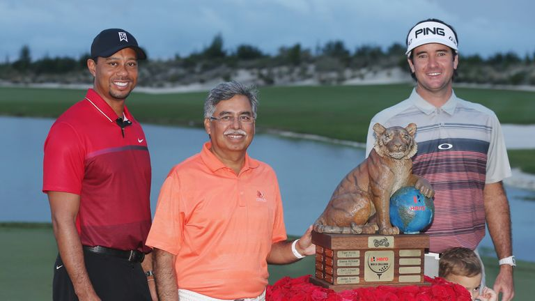 Bubba Watson won Tiger's tournament in the Bahamas last year