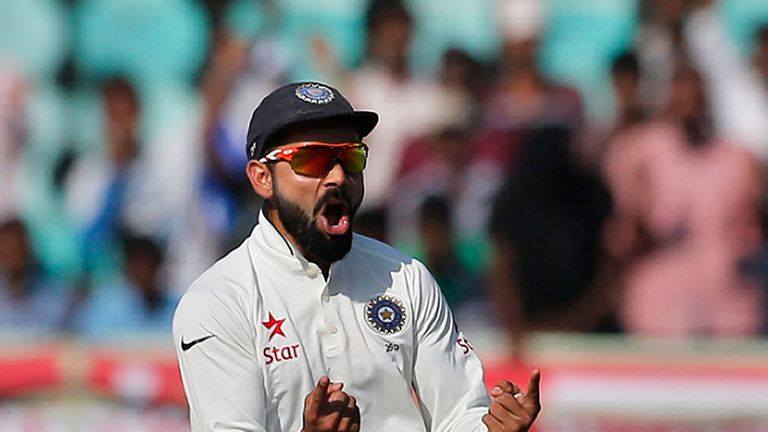 Will the fiery Virat Kohli ultimately turn into a calmer captain?