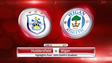 Huddersfield 1-2 Wigan