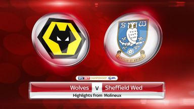 Wolves 0-2 Sheff Wed