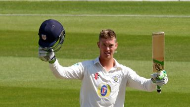 Durham's Keaton Jennings is preparing for his Test bow in Mumbai this week
