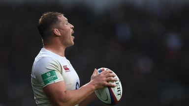 England captain Dylan Hartley is current serving a suspension for an offence committed on club duty