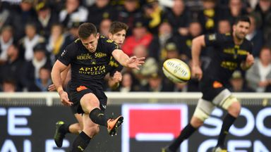 Zack Holmes kicked 20 points in La Rochelle's win over Toulouse
