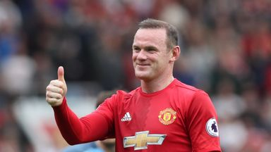 Jose Mourinho says Wayne Rooney is an option to start for Manchester United on Sunday