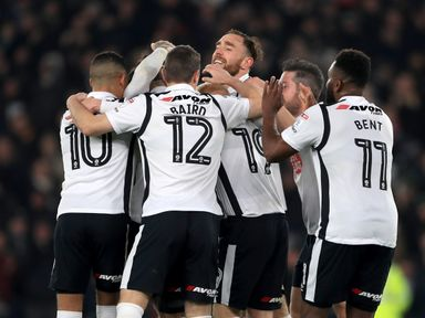 Derby are backed for victory at home to Nottingham Forest