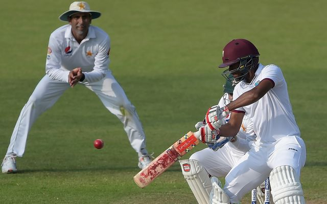 West Indies chases 153 to win 3rd test against Pakistan