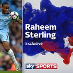 Manchester City's Raheem Sterling: I'm enjoying football and 'keeping away from certain stuff'