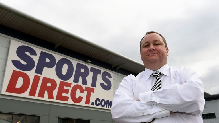 Mike Ashley has struk a deal for House of Fraser