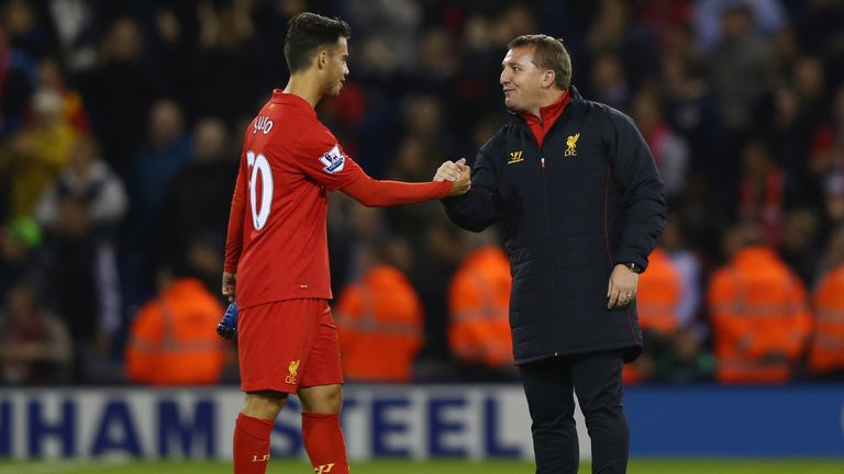 Suso struggled to assert himself at Liverpool