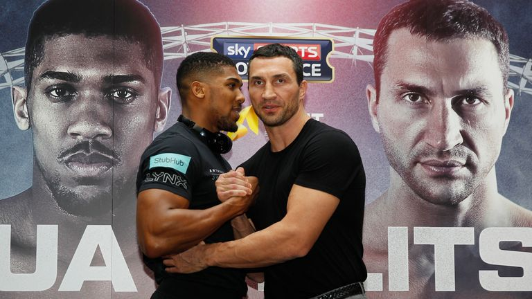 Wladimir Klitschko is not intimidated by Anthony Joshua's impressive physique ahead of Wembley fight on April 29, live on Sky Sports Box Office