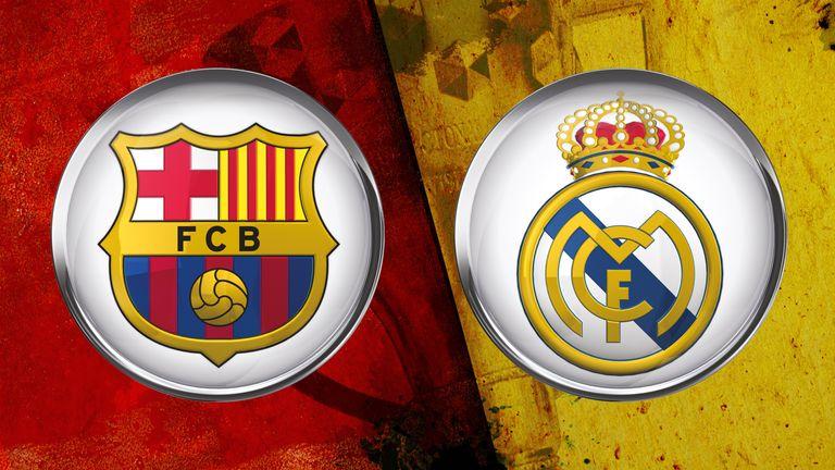 Barcelona Real Madrid Sky