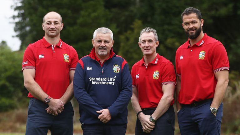 There is no Scottish influence within Gatland's main coaching team