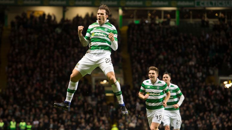 Sviatchenko celebrates his goal