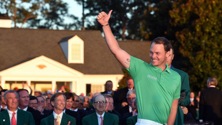 Willett was the first Englishman to win at Augusta since Nick Faldo in 1996