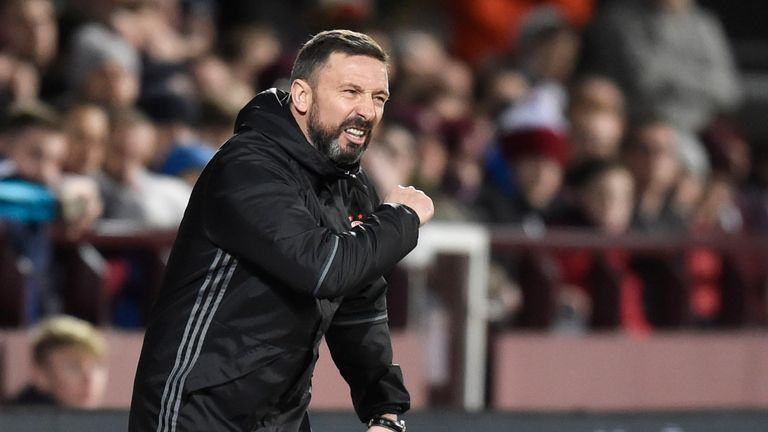Aberdeen manager Derek McInnes has decided against moving to Sunderland