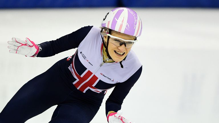 Elise Christie is heading to her third Winter Olympic Games