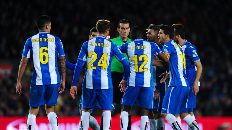 Espanyol have won three of their last four La Liga fixtures