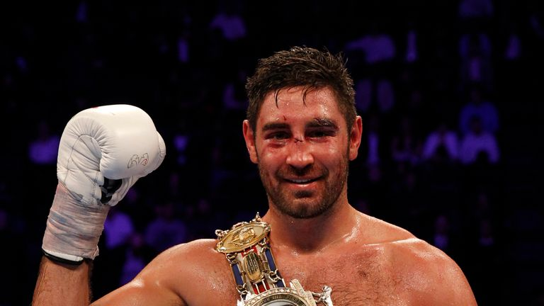 Frank Buglioni defends his British title on the same bill at The O2